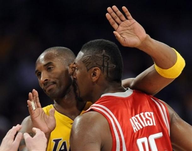 Kobe Bryant, Ron Artest