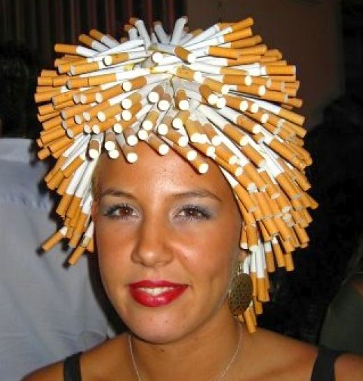 cigarette-hair