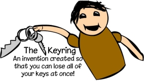 keychain-cartoon