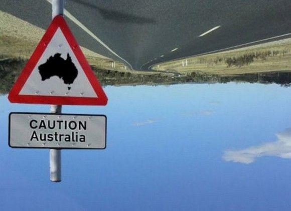 australia-upside-down